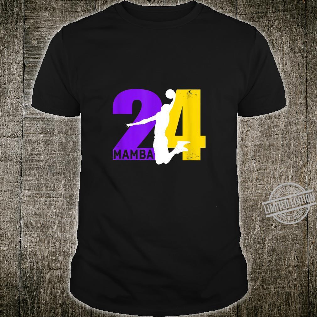 Angel+Legend+Mamba No.24 Basketball Legends Shirt