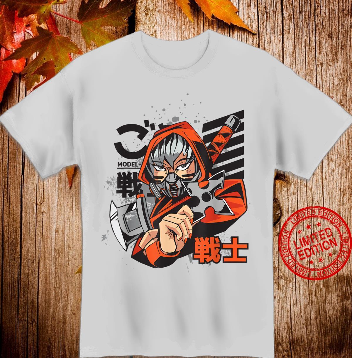Anime Japanese Ninja Girl Aesthetic Shojo Anime Shirt