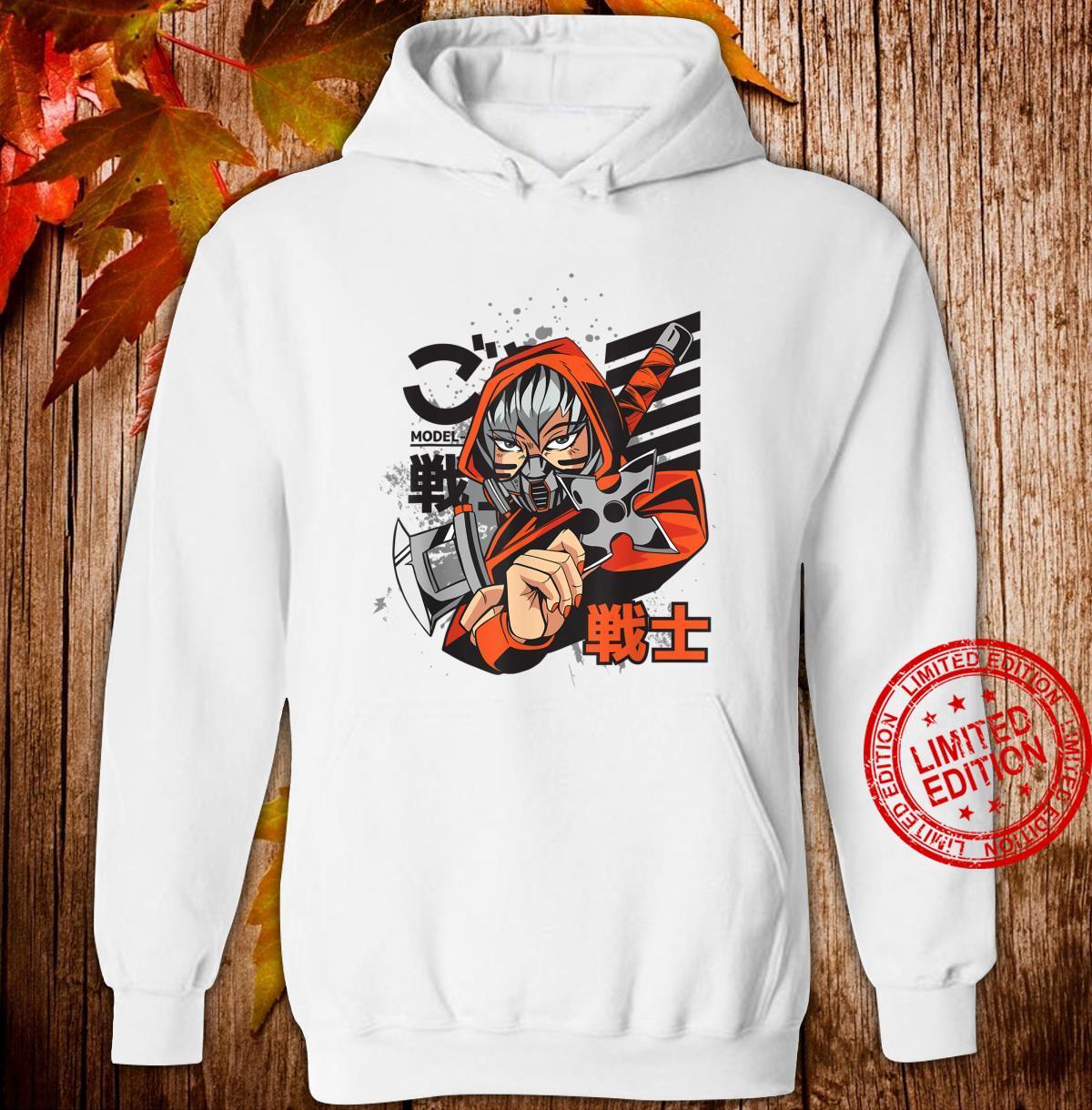 Anime Japanese Ninja Girl Aesthetic Shojo Anime Shirt hoodie
