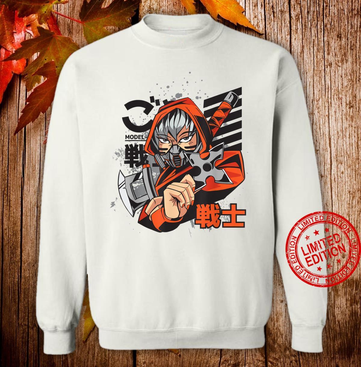 Anime Japanese Ninja Girl Aesthetic Shojo Anime Shirt sweater