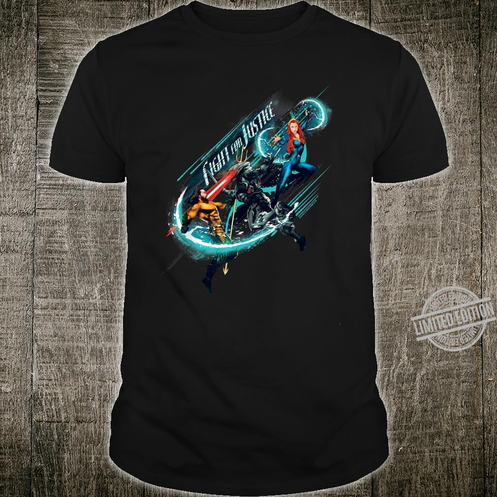Aquaman Movie Fight For Justice Shirt