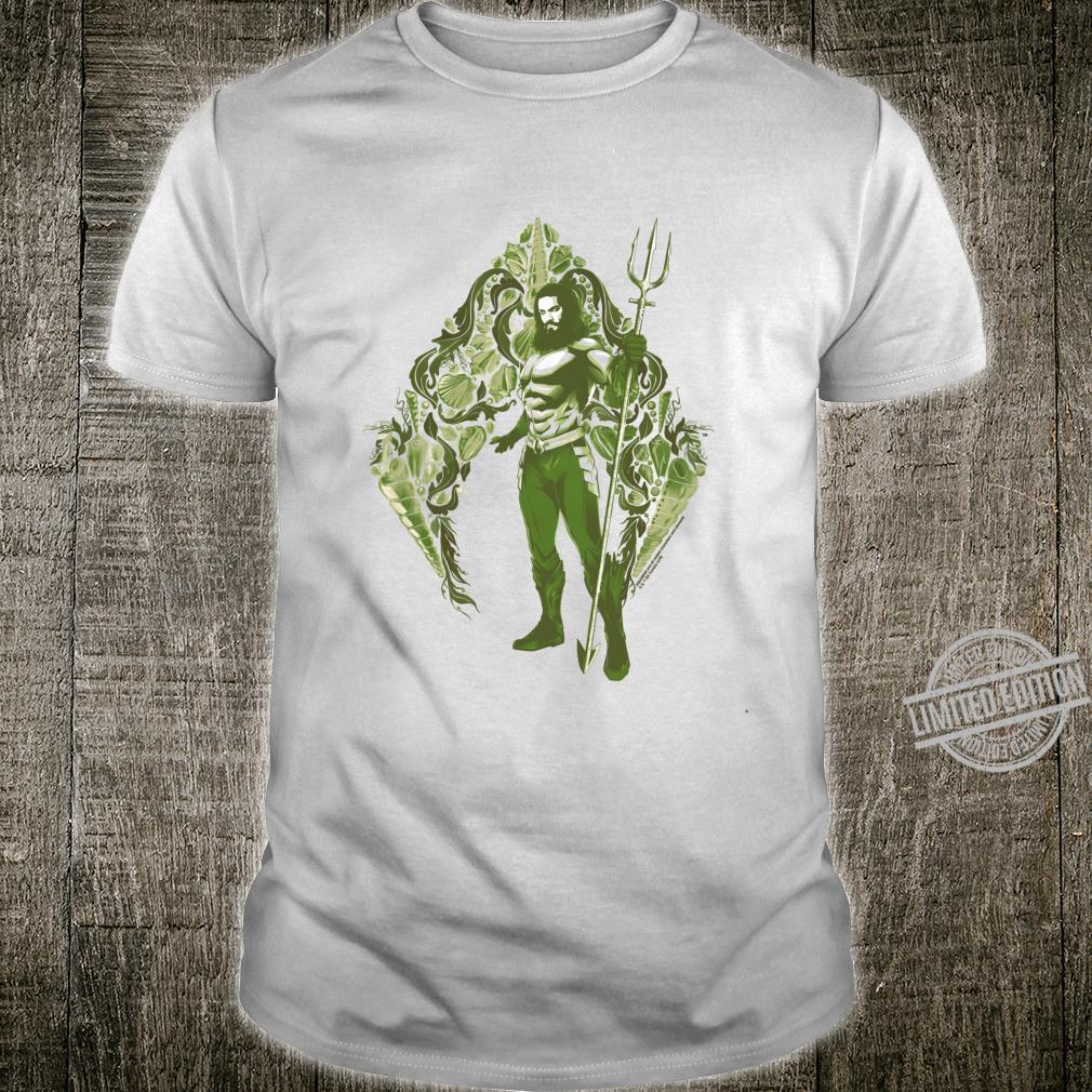 Aquaman Movie Shells Langarmshirt Shirt