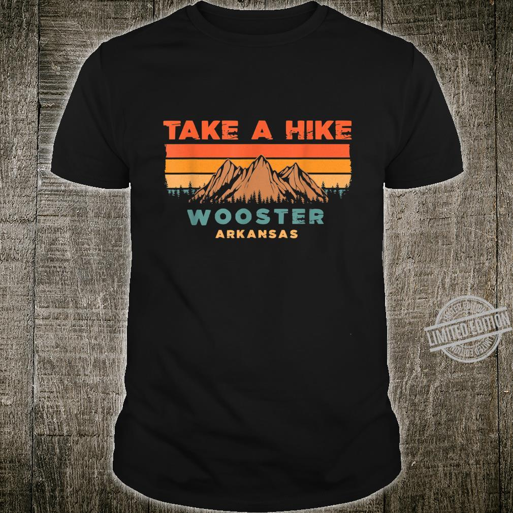 Arkansas Vintage Take A Hike Wooster Moutain Shirt