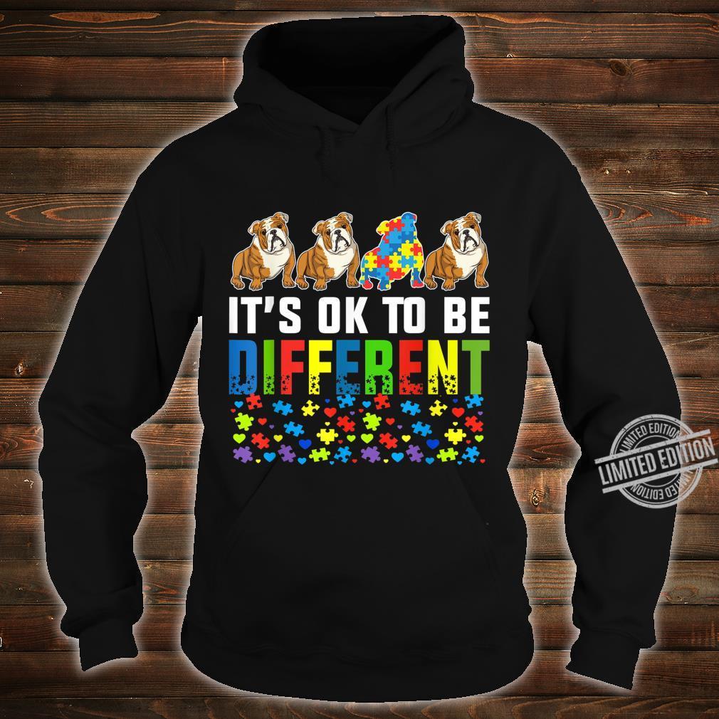 Autism Awareness English Bulldog Dog Shirt hoodie