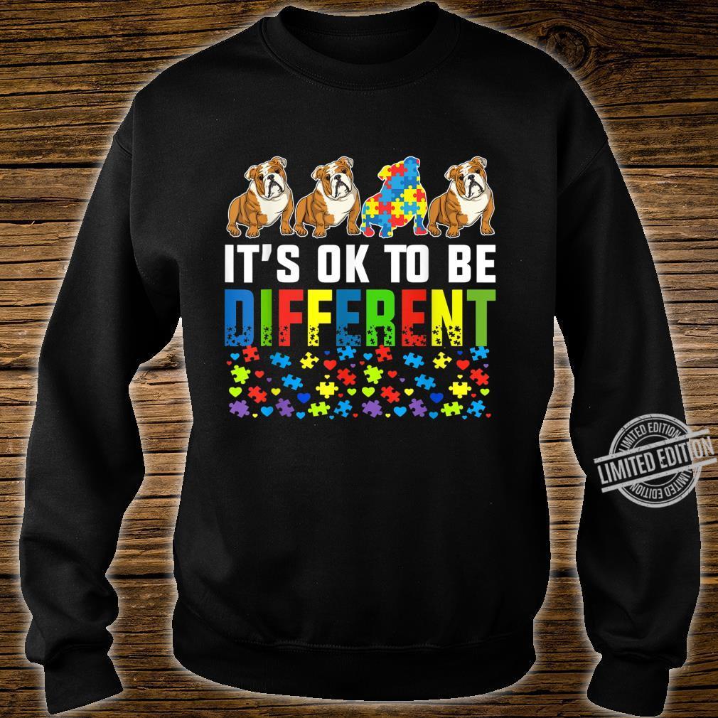 Autism Awareness English Bulldog Dog Shirt sweater