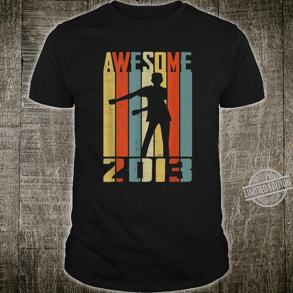Awesome Since 2013 Vintage Floss Dance 7 Yrs Old Bday Boys Shirt