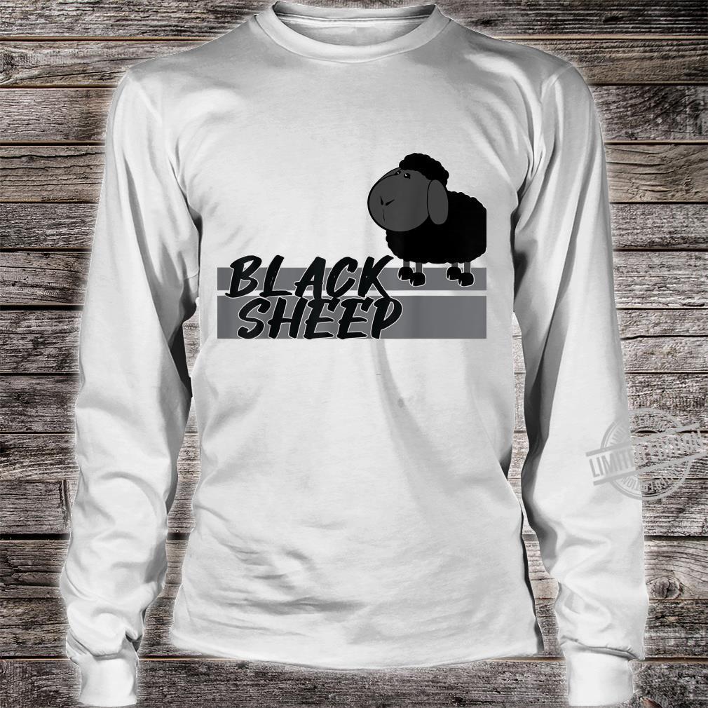 BLACK SHEEP SCHWARZES SCHAF AnKuDesigns Shirt long sleeved