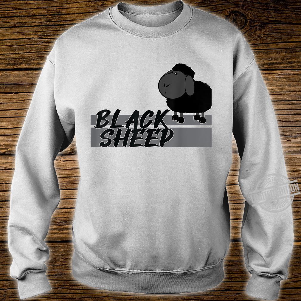 BLACK SHEEP SCHWARZES SCHAF AnKuDesigns Shirt sweater