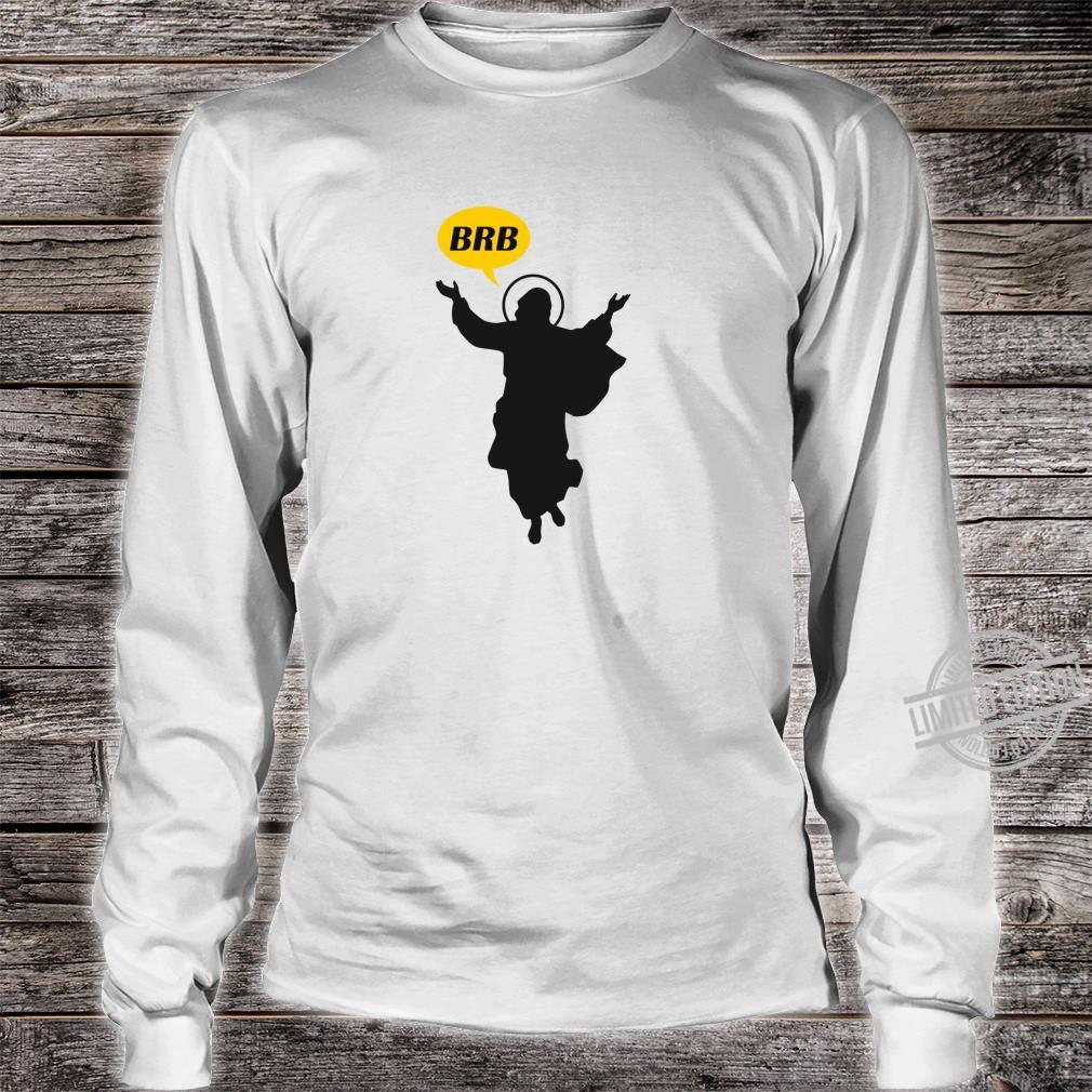 BRB Jesus Lustige christliche oder katholische Ostersonntags Shirt long sleeved