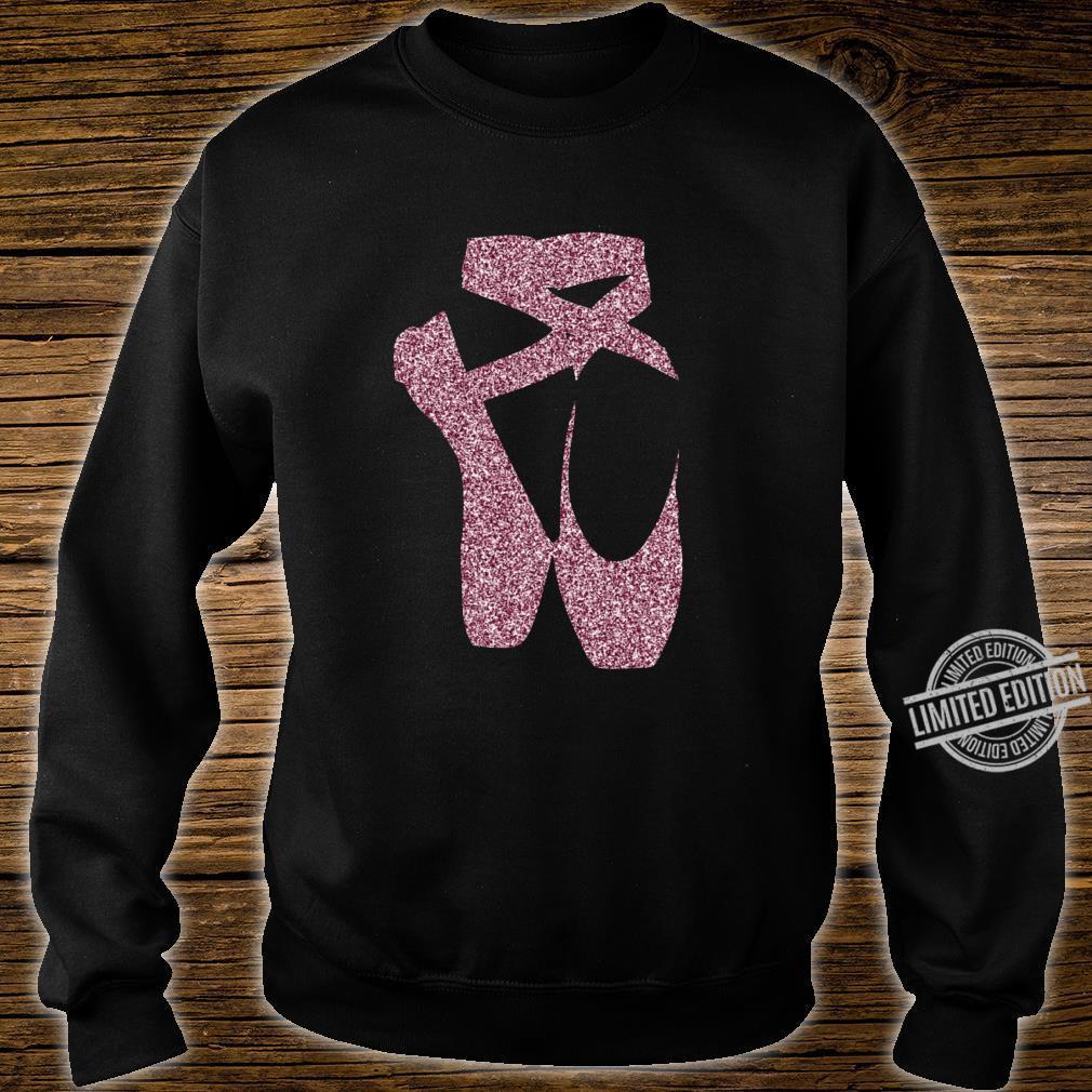 Ballett Ballerina Spitzenschuhe Punkt Langarmshirt Shirt sweater