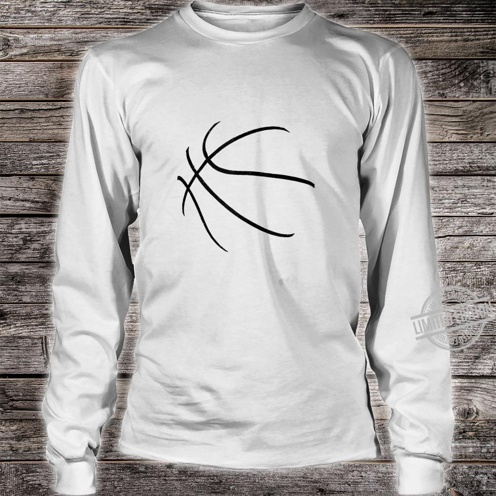 Basketball Costume Bball Player Coach Sports Baller Shirt long sleeved