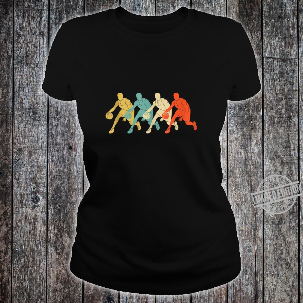 Basketball Design colorful idea Shirt ladies tee