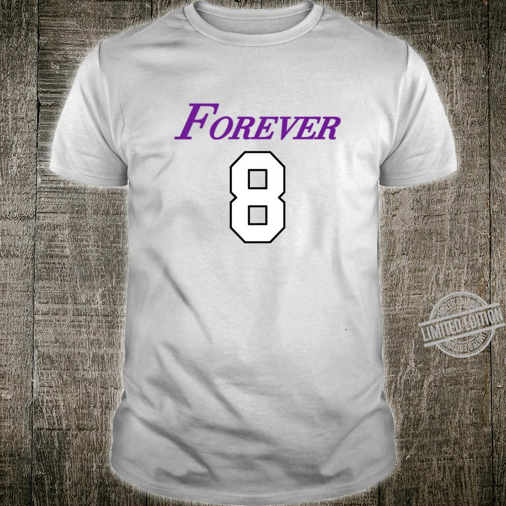 Basketball Game Player Number 8 and 24 Sports Legend Forever Shirt