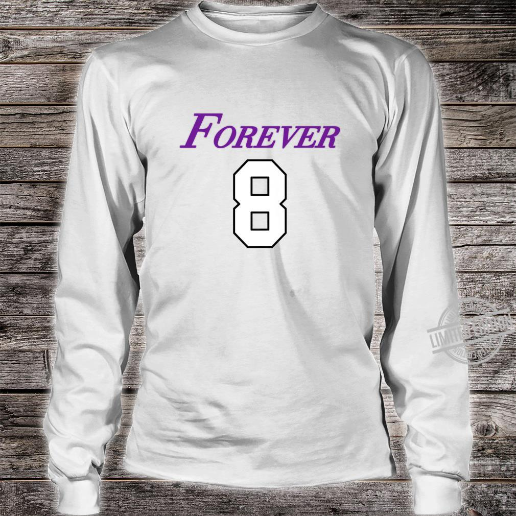 Basketball Game Player Number 8 and 24 Sports Legend Forever Shirt long sleeved