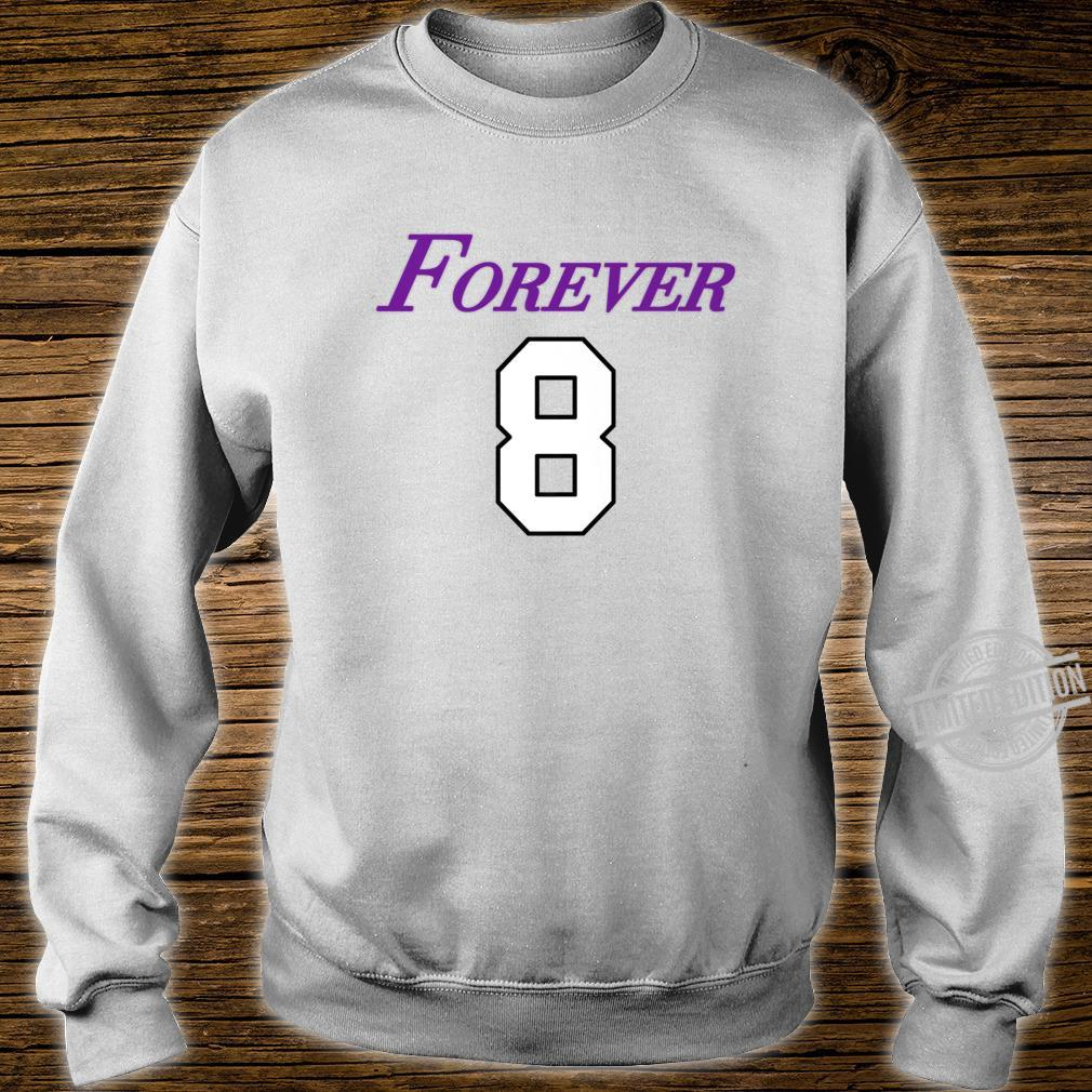 Basketball Game Player Number 8 and 24 Sports Legend Forever Shirt sweater