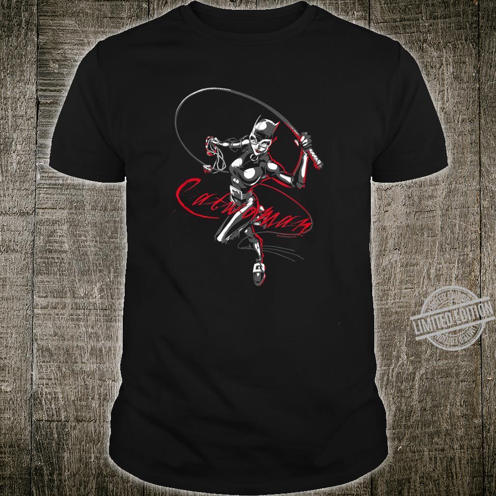 Batman Catwoman Kitten With a Whip Shirt
