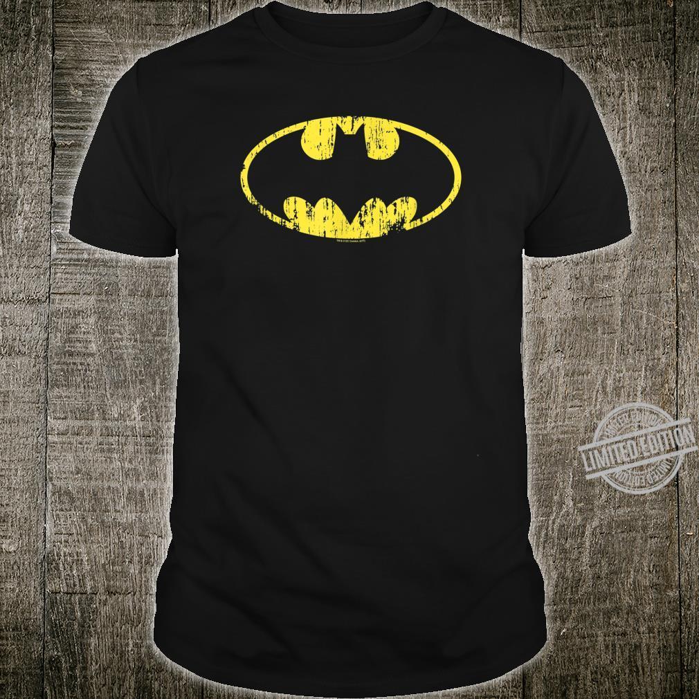 Batman Classic Logo Distressed Shirt