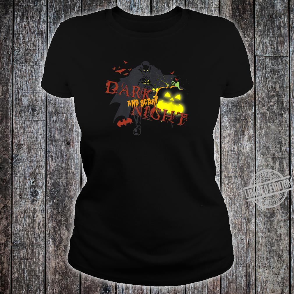 Batman Dark and Scary Night Shirt ladies tee