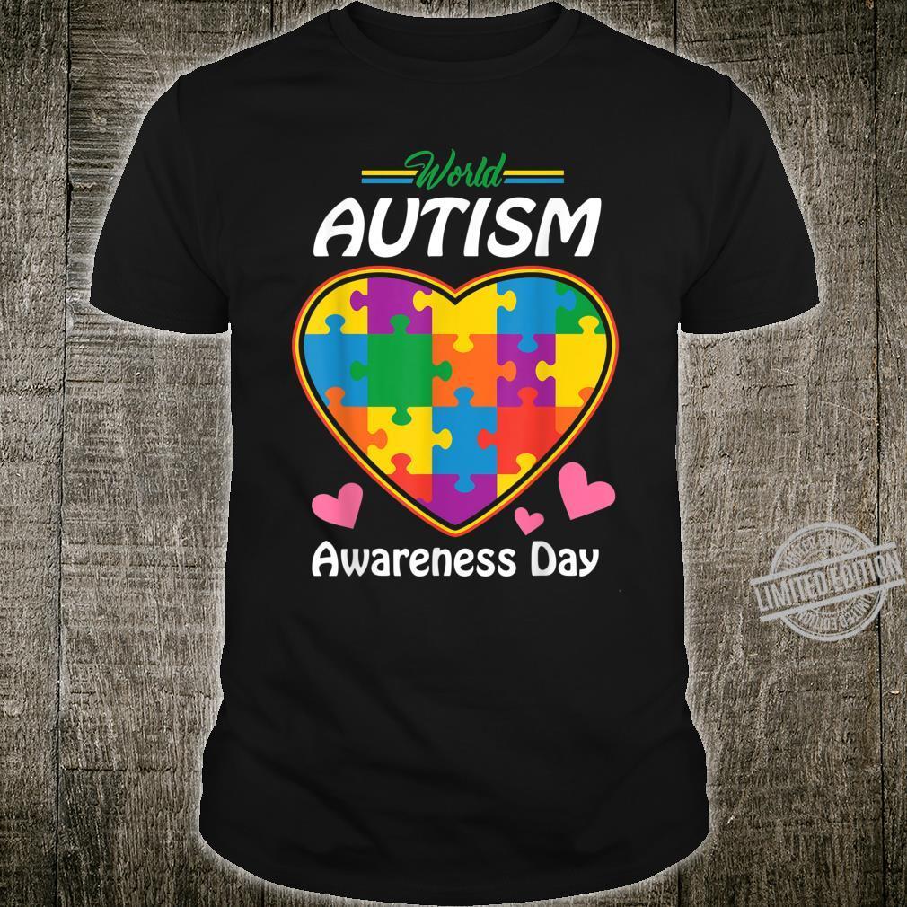 Bee Kind Beautiful Autism Awareness Gift design Puzzle Shirt