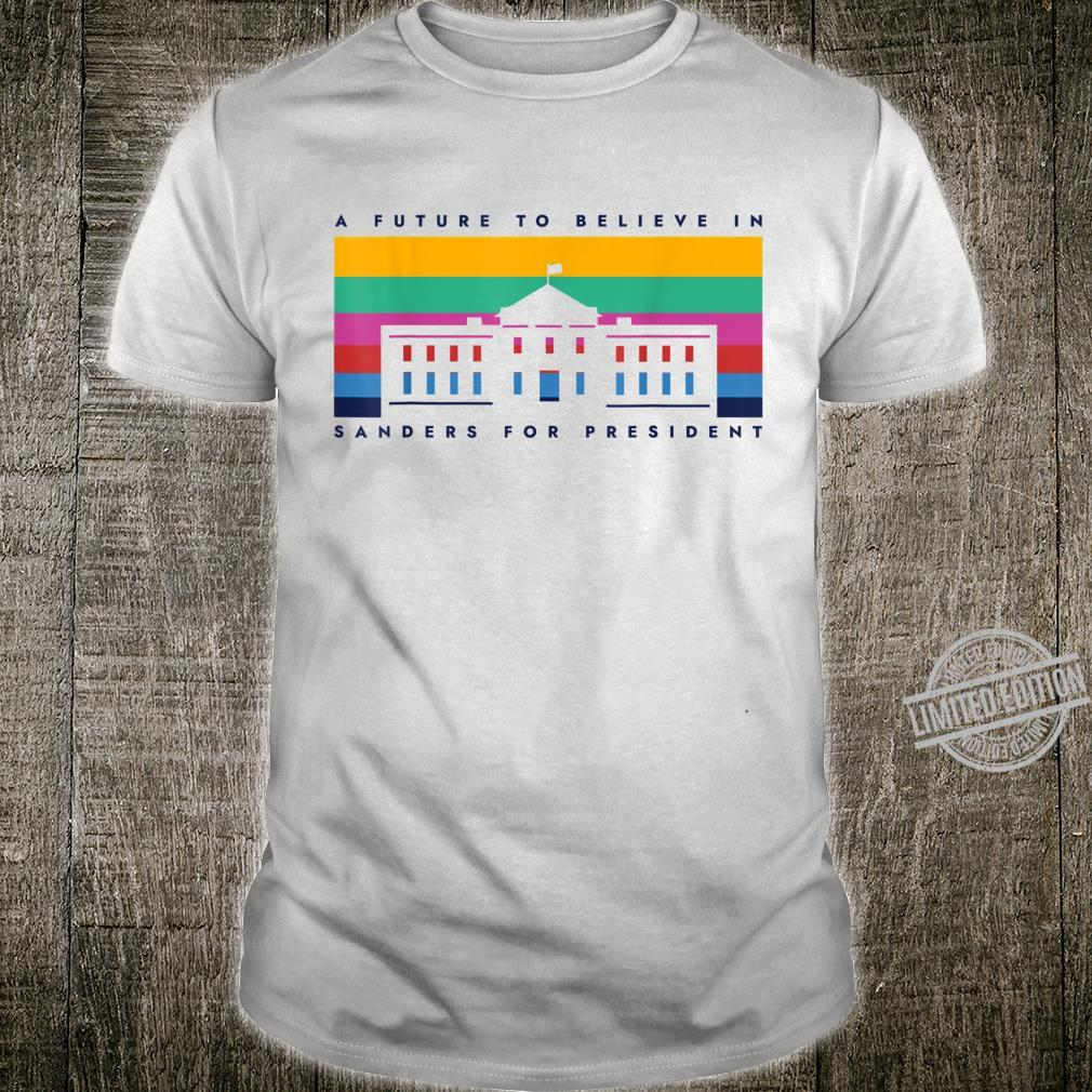 Bernie 2020 Vintage Rainbow Whitehouse Shirt