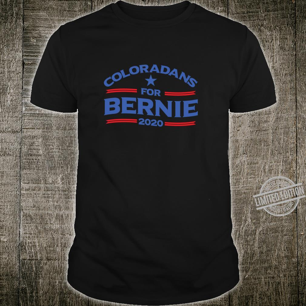 Bernie Sanderss for Colorado 2020 Shirt