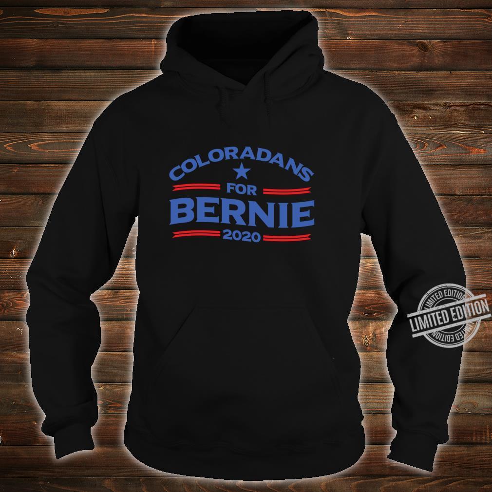 Bernie Sanderss for Colorado 2020 Shirt hoodie