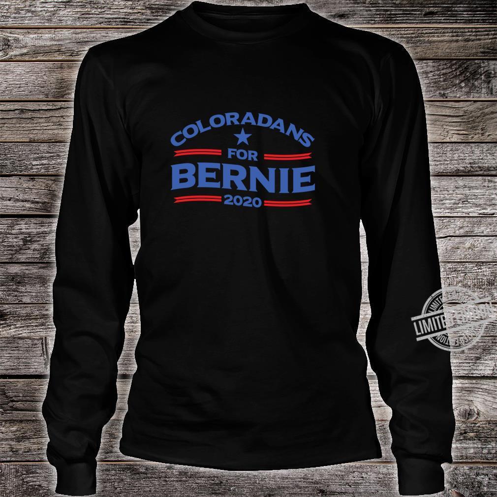 Bernie Sanderss for Colorado 2020 Shirt long sleeved