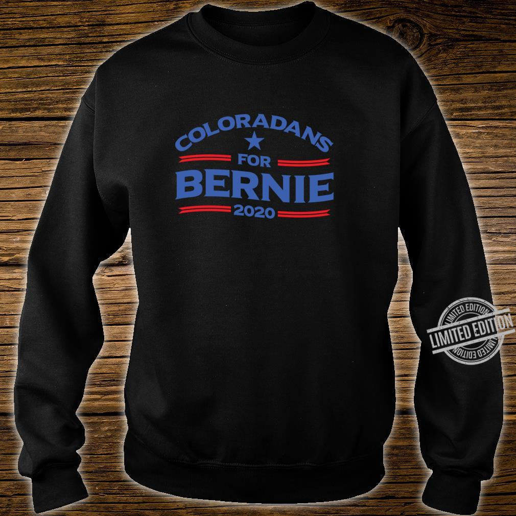 Bernie Sanderss for Colorado 2020 Shirt sweater