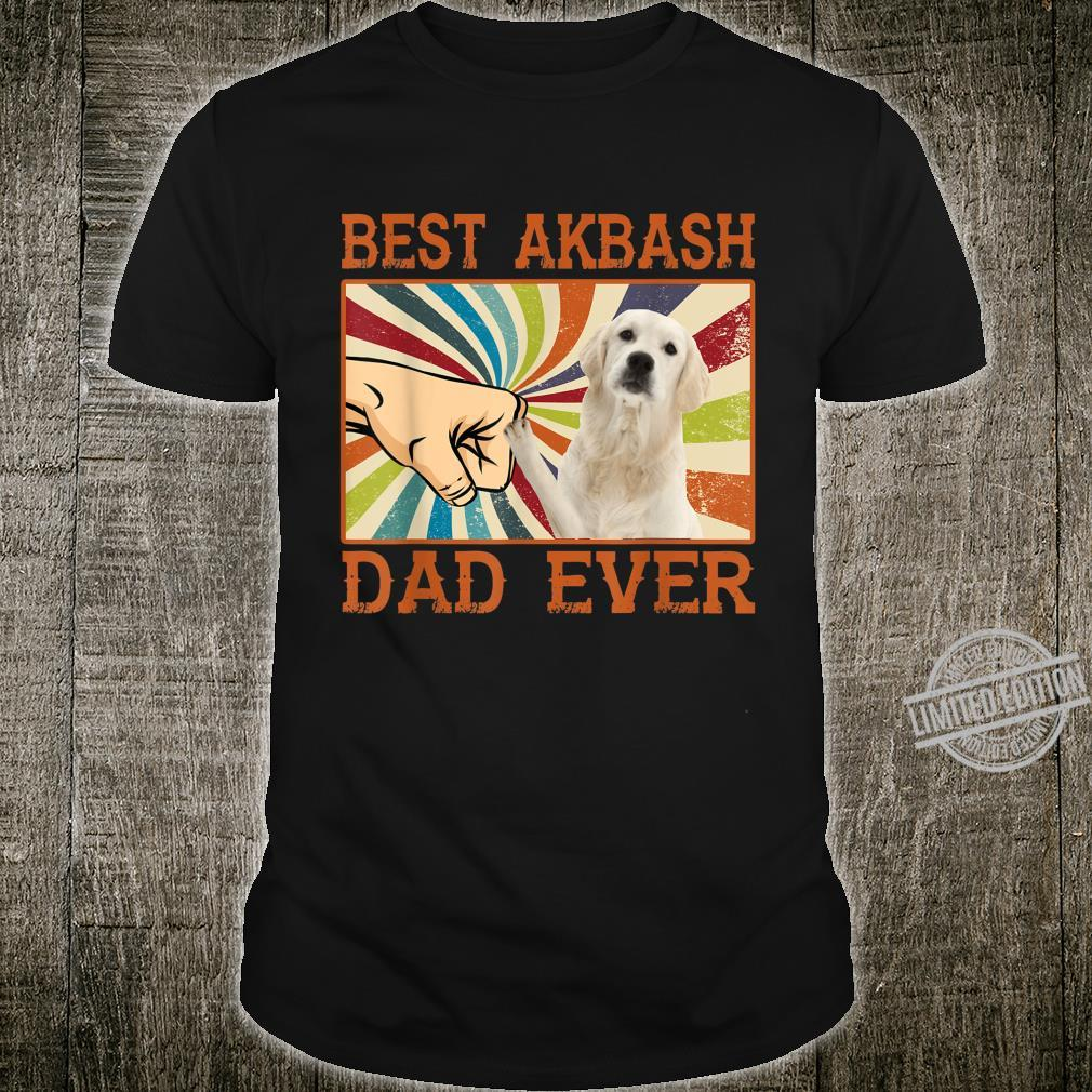 Best Akbash Dad Ever Retro Vintage Shirt