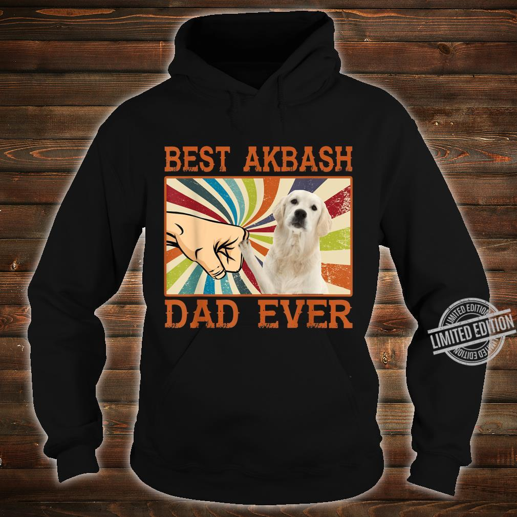Best Akbash Dad Ever Retro Vintage Shirt hoodie