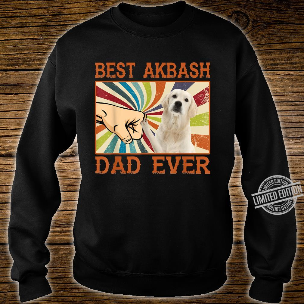 Best Akbash Dad Ever Retro Vintage Shirt sweater