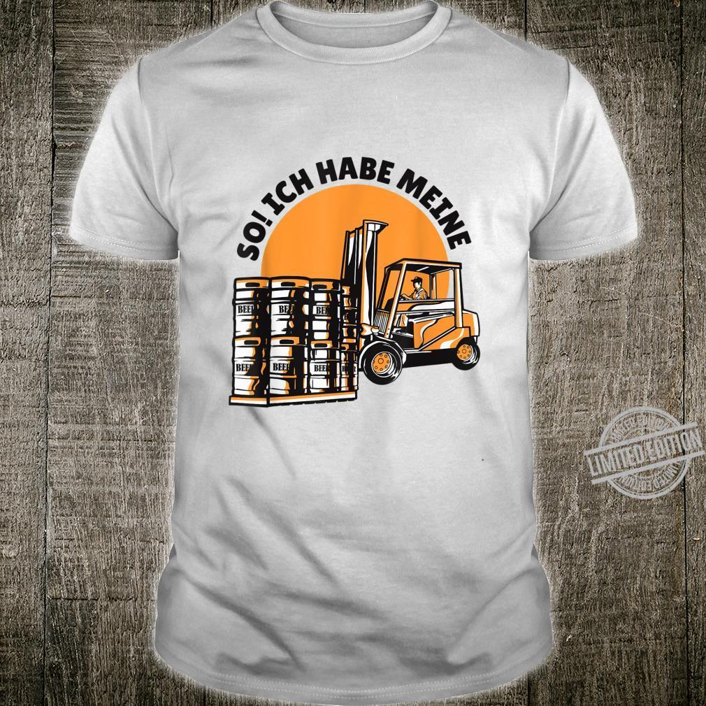 Bierfässern Shirt