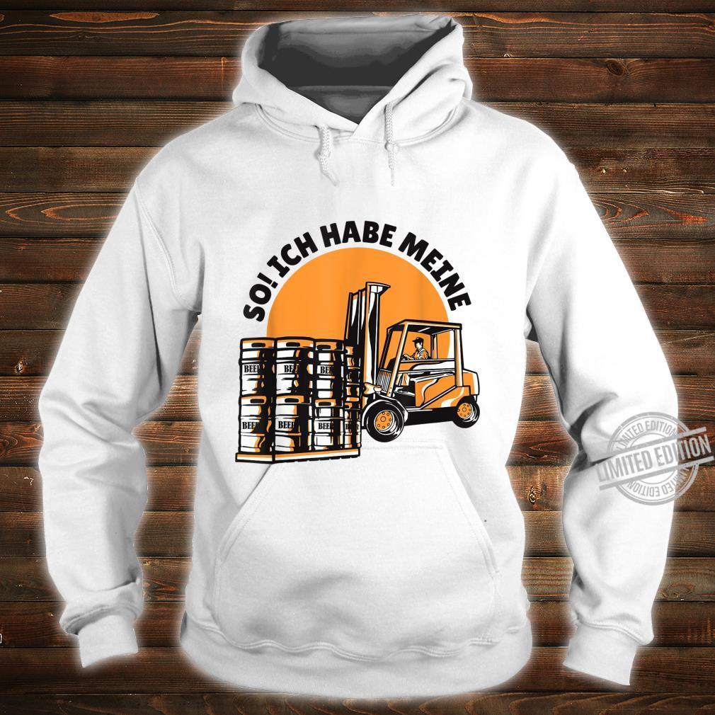 Bierfässern Shirt hoodie
