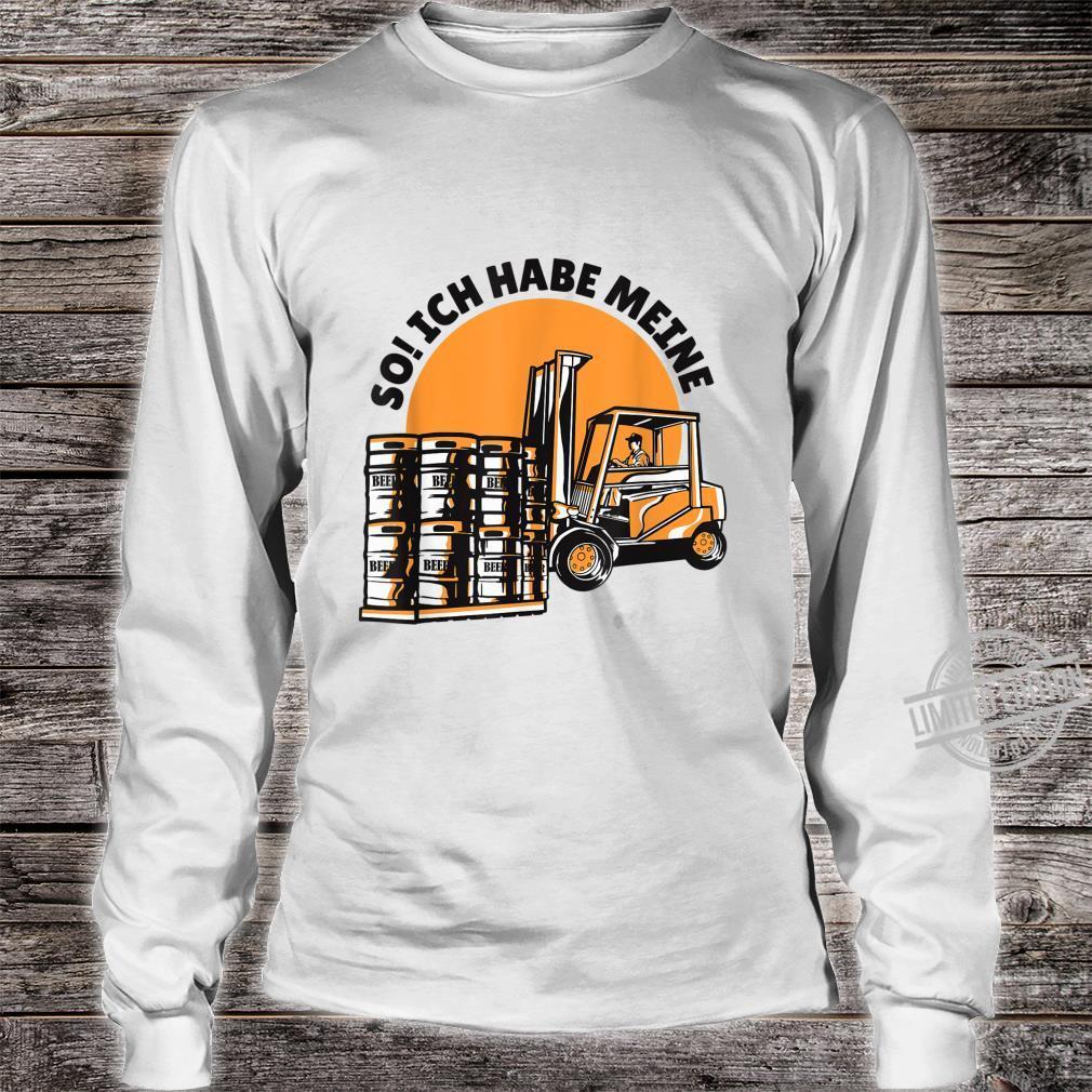Bierfässern Shirt long sleeved