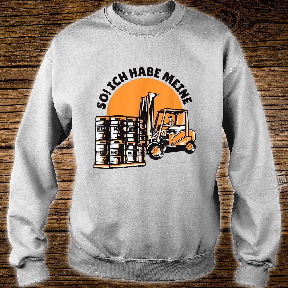Bierfässern Shirt sweater
