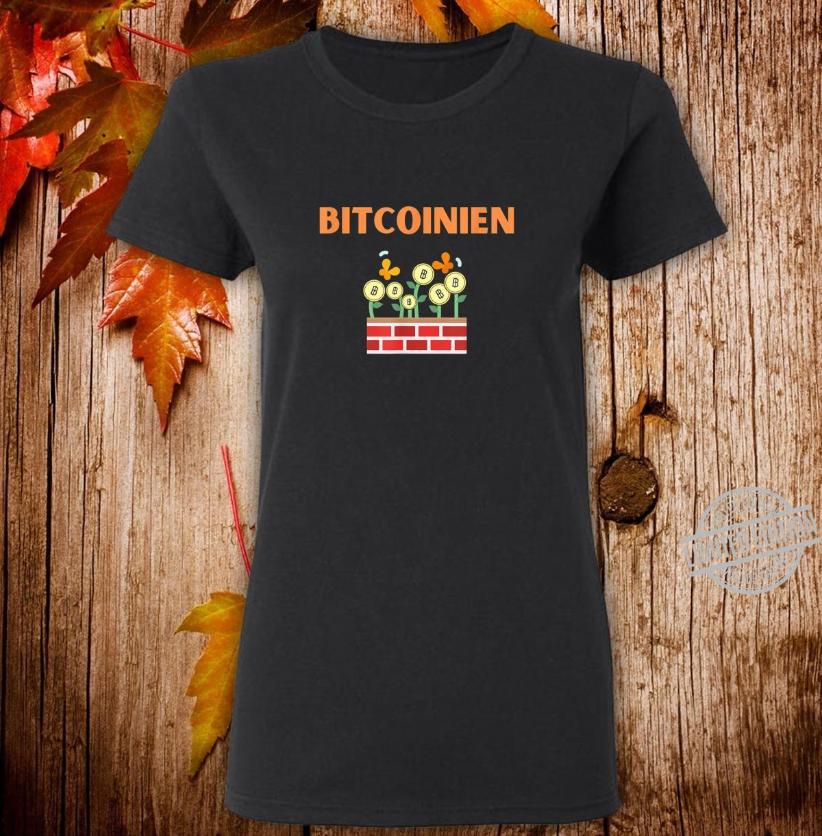 Bitcoin Krypto Blockchain Kryptowährung Geschenkidee Shirt ladies tee