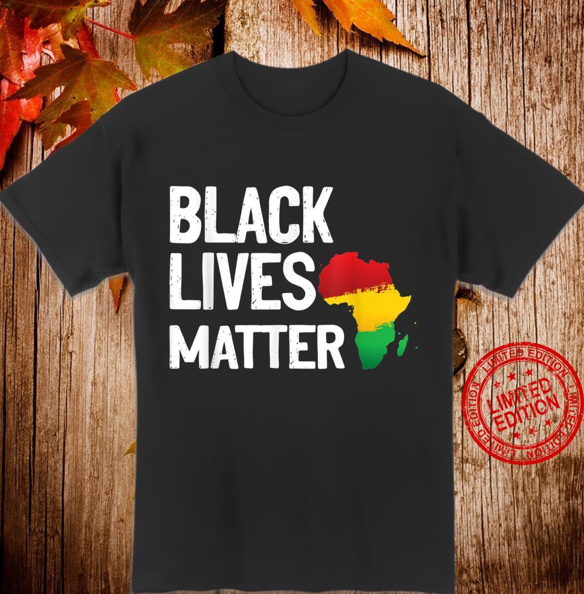 Black Lives Matter African Pride Shirt