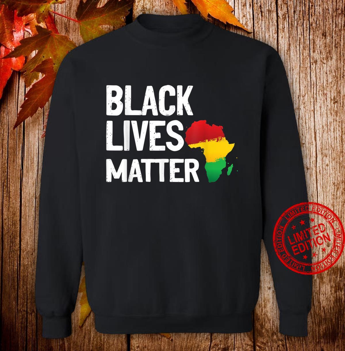 Black Lives Matter African Pride Shirt sweater