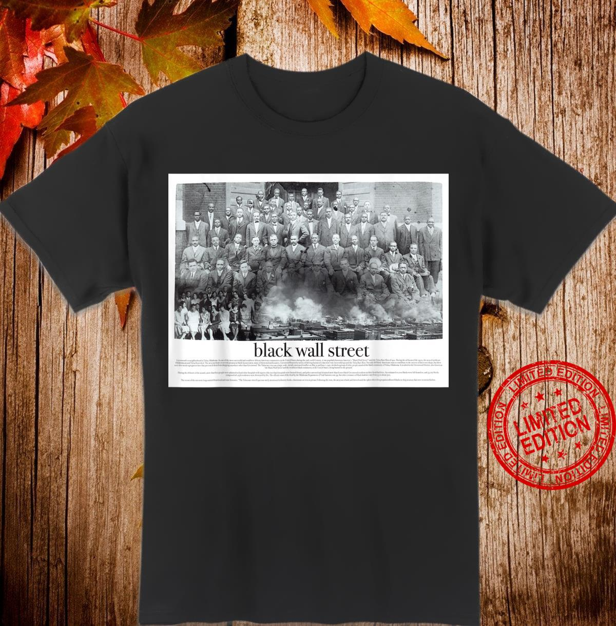 Black Wall Street Shirt