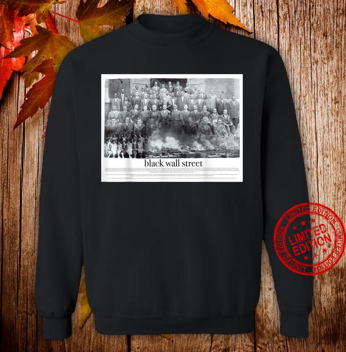 Black Wall Street Shirt sweater