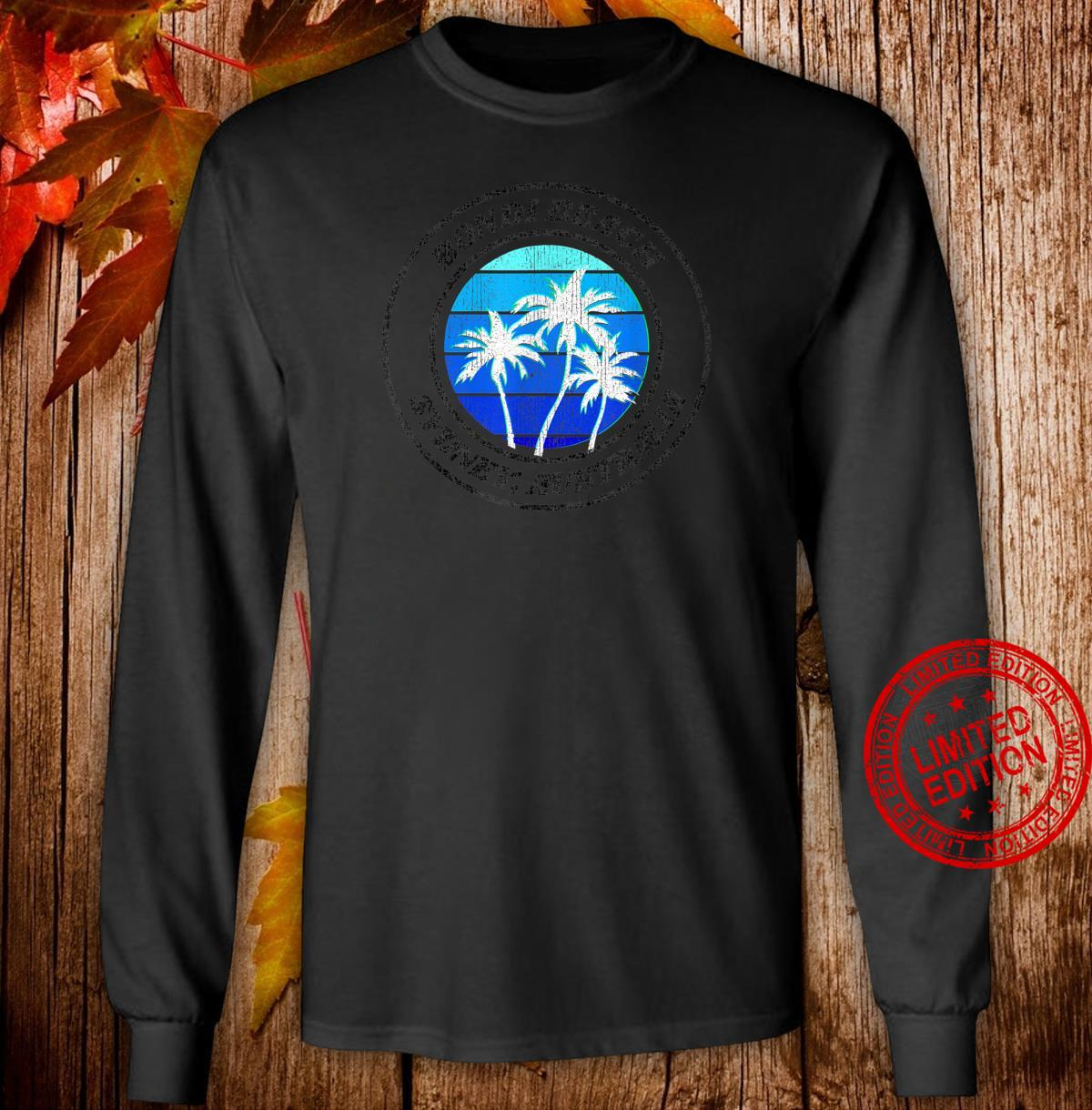 Bondi Beach Sydney Australia Souvenir Shirt long sleeved
