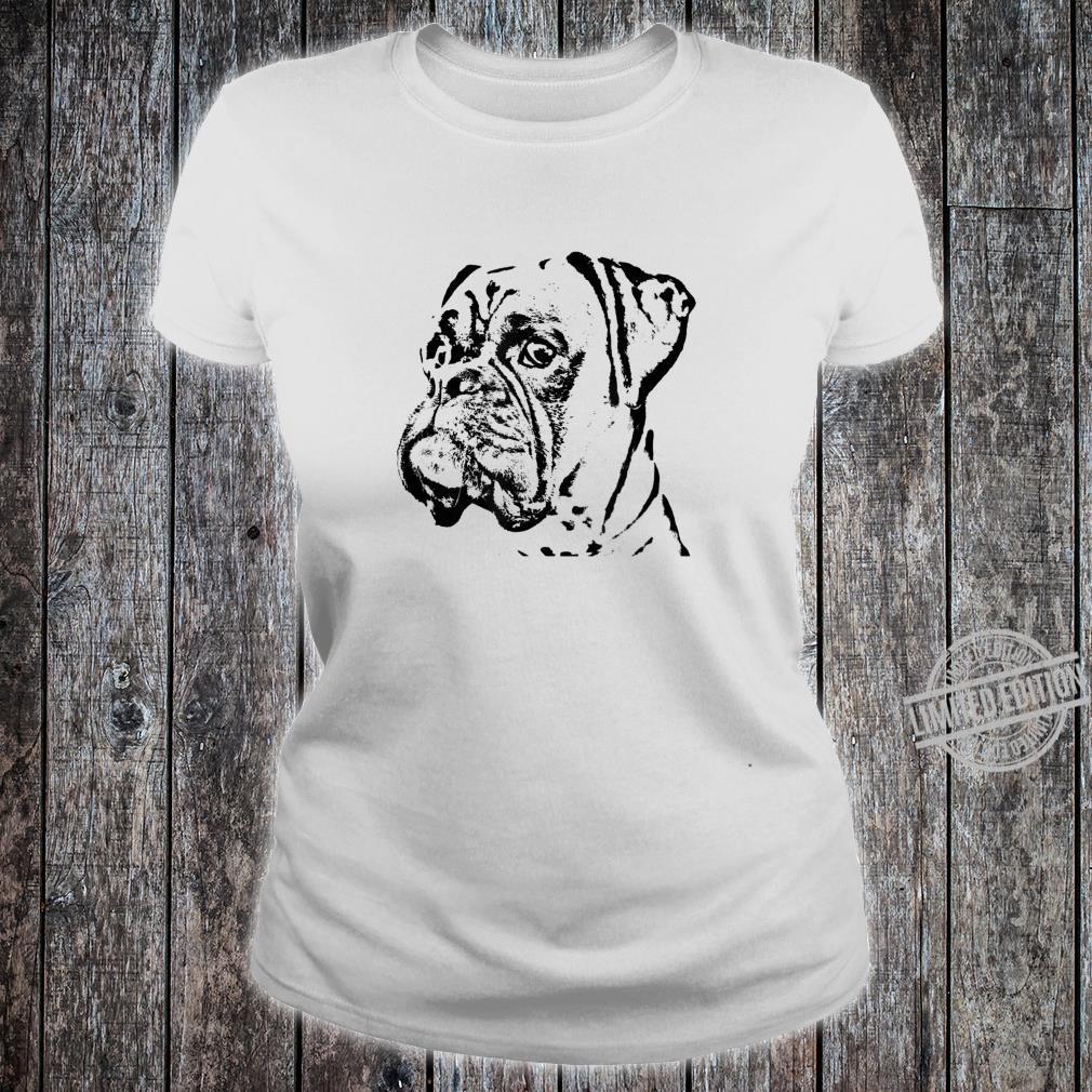 Boxer Hund Geschenke & Kleider Shirt ladies tee