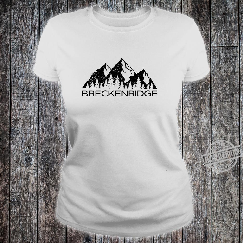 Breckenridge Breckenridge Colorado Shirt ladies tee