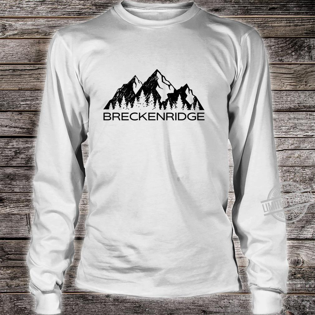 Breckenridge Breckenridge Colorado Shirt long sleeved