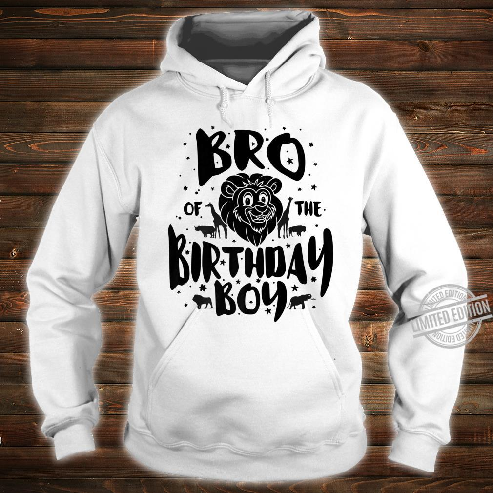Bro of the Birthday Boy cute safari family matching Shirt hoodie
