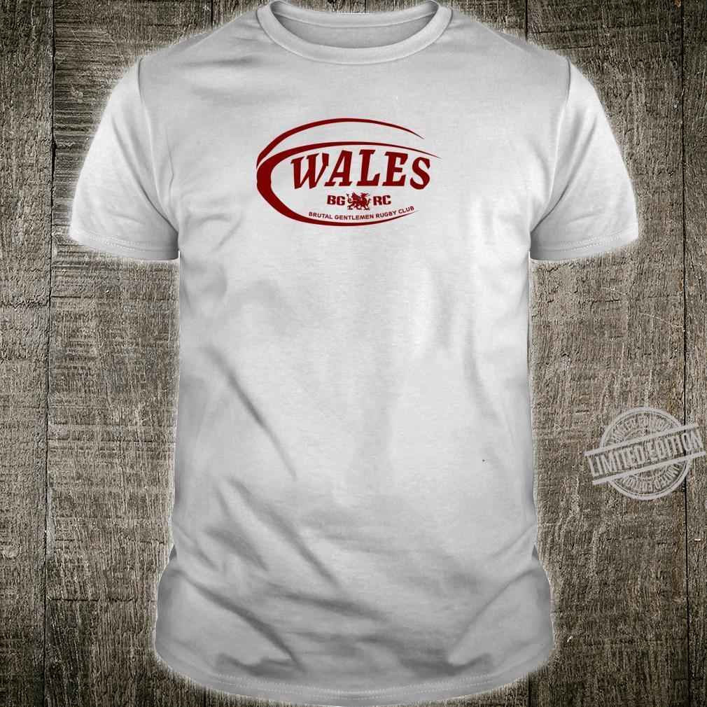 Brutal Gentlemen Rugby Club Wales Football Icon Shirt