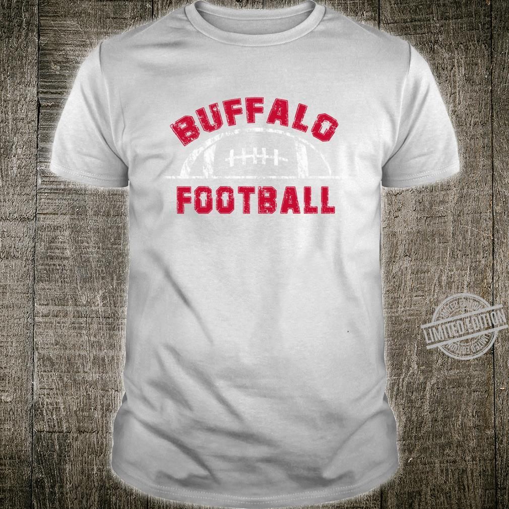 Buffalo Football End Zone Game Day Distressed Vintage Shirt