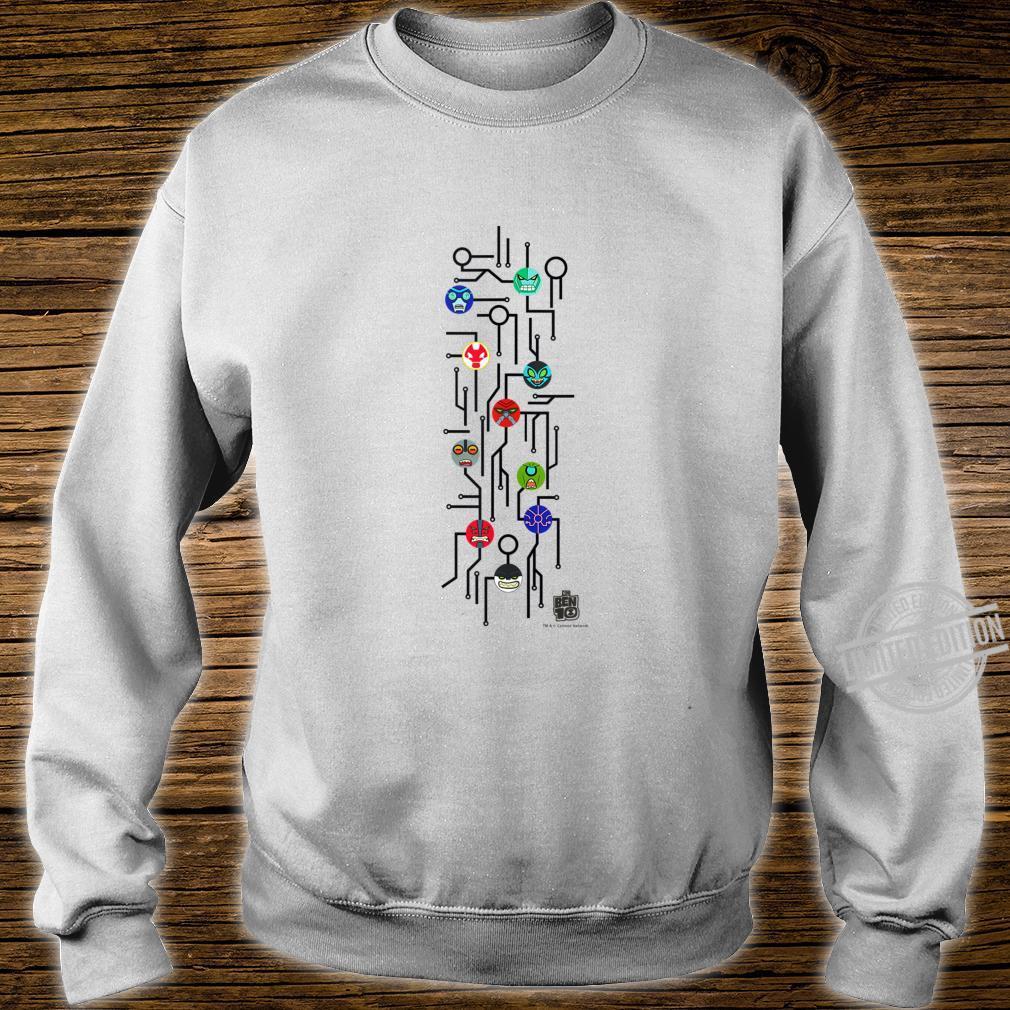 CN Ben 10 Alien Icons Map Shirt sweater