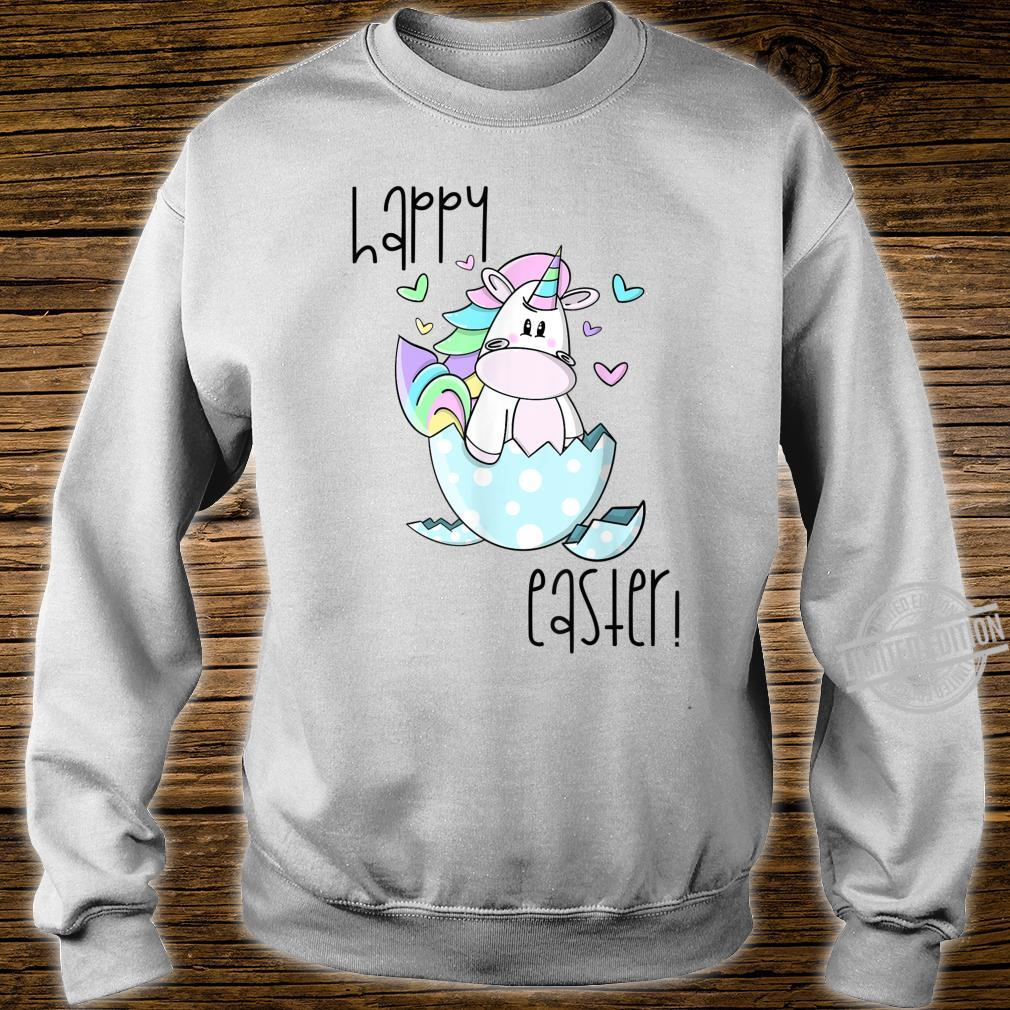 CUTE LITTLE GIRLS EASTER SHIRT EASTER UNICORN SHIRT Shirt sweater