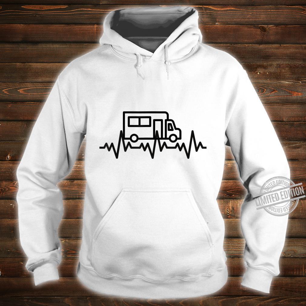 Camping Herzschlag EKG Wohnmobil Geschenk Camper Shirt hoodie